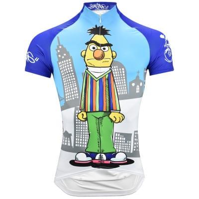 Biketags Sesamstraße Ernie und Bert Radtrikot Herren