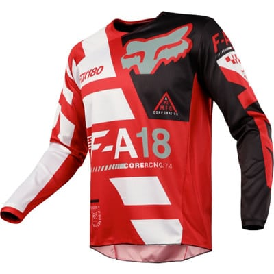 Fox 180 Sayak Youth Langarmjersey