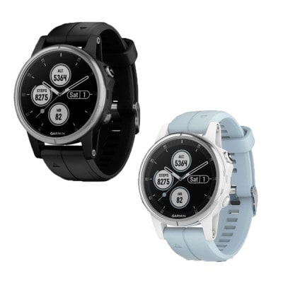 Garmin Fenix 5S Plus Multisport-Smartwatch