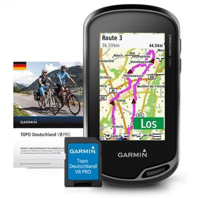 Garmin Oregon 700 Navigationsgerät + TOPO Deutschland V8 PRO Karte