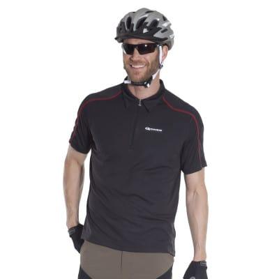 Gonso Herren Bike-Polo Henrik, schwarz