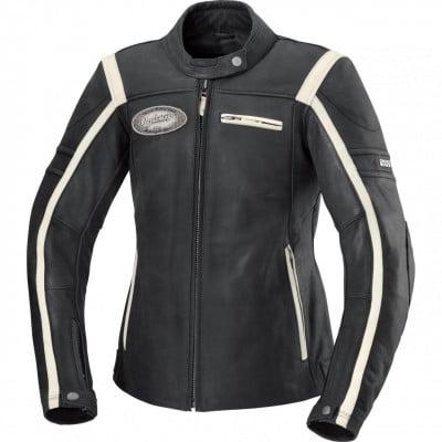 IXS Shawn Motorrad-Lederjacke Damen