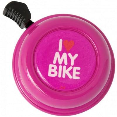 Liix Color Bell I love my Bike Fahrradklingel