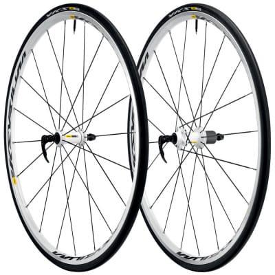 Mavic Ksyrium Equipe S WTS Rennrad-Laufradsatz weiß (28 Zoll)