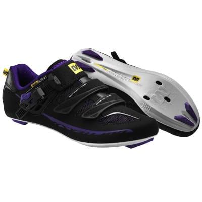 Mavic Damen Rennradschuh Ksyrium Elite W, schwarz-lila