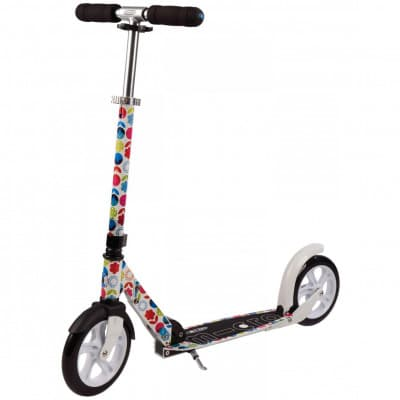 Micro Scooter White M&D Floral multicolor