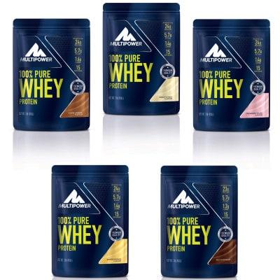 Multipower 100% Pure Whey Protein Pulver (450 g)