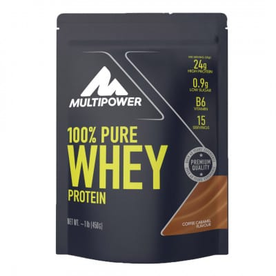 Multipower 100 % Pure Whey Protein Pulver (450 g)