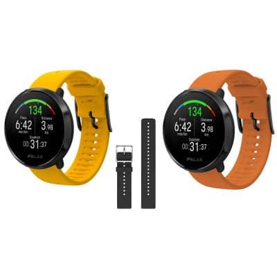 Polar Ignite GPS-Multisportuhr inkl. Wrist Band Set
