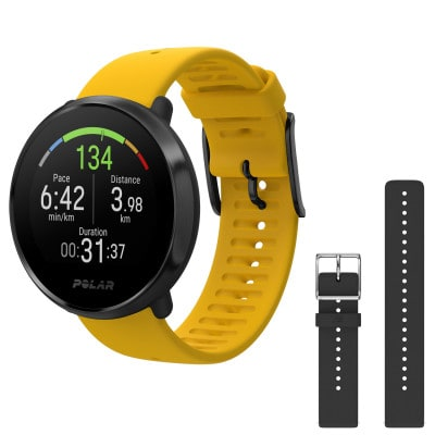 Polar Ignite GPS-Multisportuhr inkl. Wrist Band Set