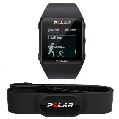 Polar V800 HR GPS-Fahrradcomputer inkl. Brustgurt H10