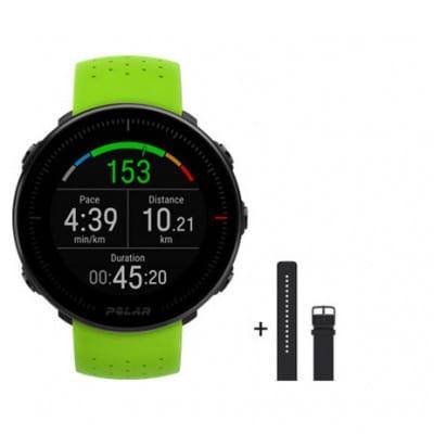 Polar Vantage M Green LTD + zweites Armband