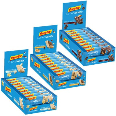 Powerbar Clean Whey Energieriegel Box (18x45g)