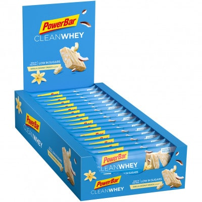 Powerbar Clean Whey Eiweißriegel Box (18 x 45 g)
