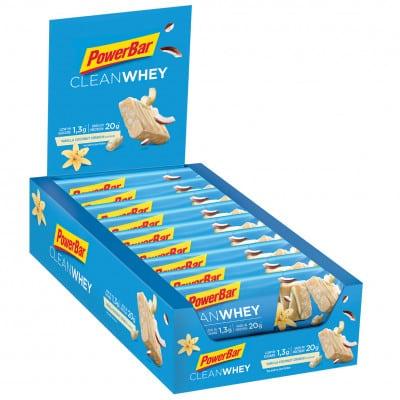 Powerbar Clean Whey Energieriegel Box (18 x 60 g)
