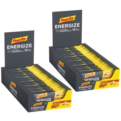 Powerbar Energize Natural Ingredients Sport-Riegel 2 Boxen (50x55g)