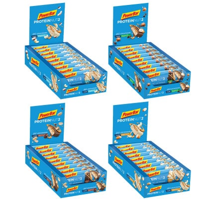 Powerbar Protein NUT2 Energieriegel Box (18 Stk. 2x22,5g)