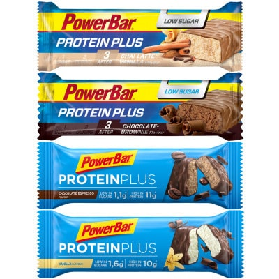 Powerbar Protein Plus Low Sugar Eiweißriegel (35 g)