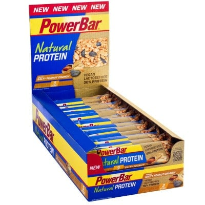 Powerbar Riegel Natural Protein 30 % vegan Box (24 x 40 g)