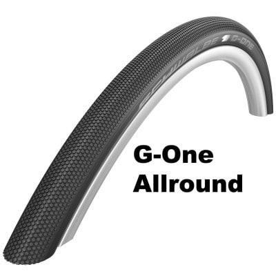Schwalbe G-One Allround Gravel-Bike-Reifen (28 Zoll)