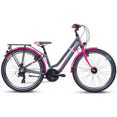 S`Cool Chix Twin Alloy 24 21-S/Freilauf Jugendfahrrad