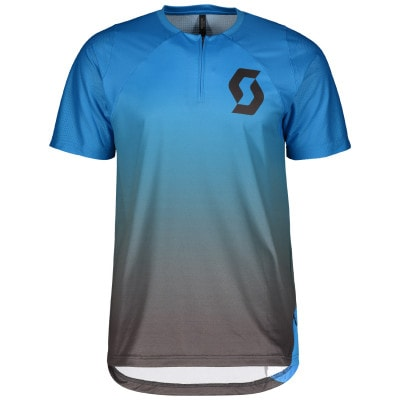 Scott Trail Vertic Zip s/sl Bike-Shirt Herren
