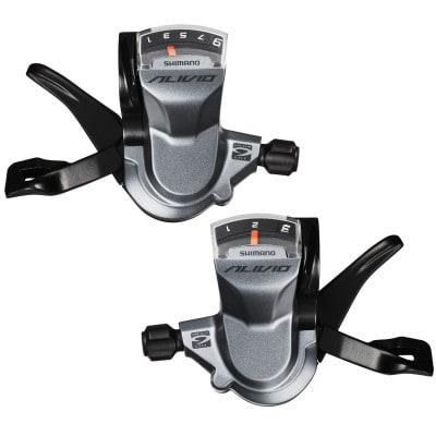 Shimano Alivio SL-M4000 MTB-Schalthebel-Paar (3x9-fach)