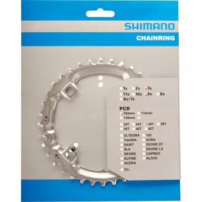 Shimano Fahrrad-Kettenblatt Deore FC-M510 36 Z