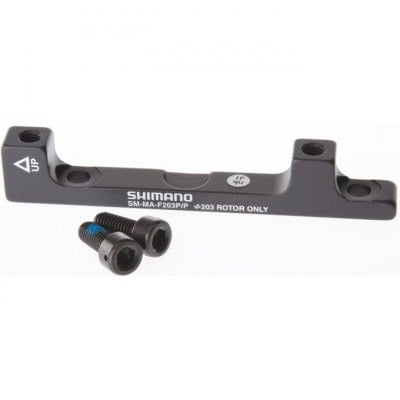 Shimano Post-Mount-Adapter für Scheibenbremsen 203 mm