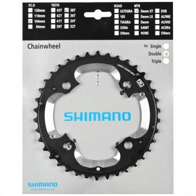 Shimano MTB-Kettenblatt XT FC-M785 38 Z (2x10-fach)
