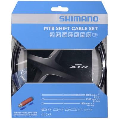 Shimano XTR Schaltzugsatz MTB polymerbeschichtet