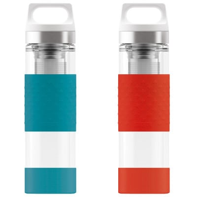 Sigg Hot & Cold Glass Thermo-Trinkflasche (400 ml)
