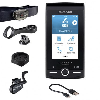 Sigma Rox 12.0 Sport Set Gray GPS-Fahrradcomputer