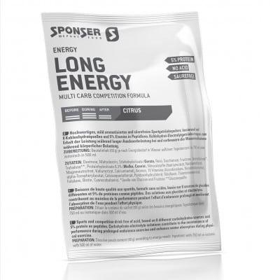 Sponser Long Energy 5 %  Beutel (60 g)
