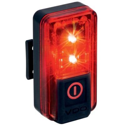 VDO Eco Light Red Plus Fahrrad-Rücklicht mit Bremslichtfunktion