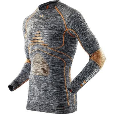X-Bionic Energy Accumulator ™  Evo Melange Rundhals-Shirt