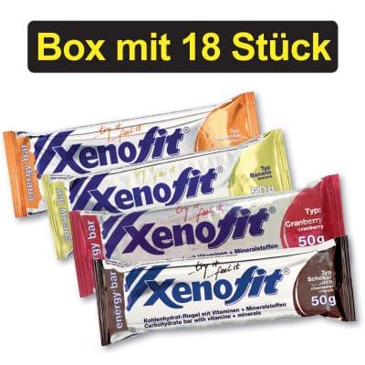 Xenofit Energy Bar Energieriegel Box (18 x 50 g)