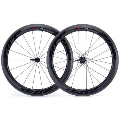 Zipp 404 Firecrest Carbon Clincher Rennrad-Laufradsatz (28 Zoll) Decals schwarz