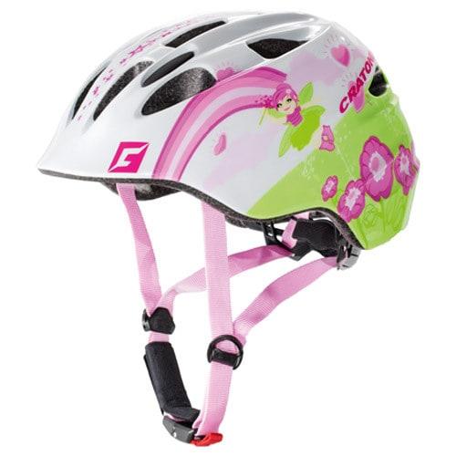 cratoni akino kinder fahrradhelm wei pink gr e m 53 58 cm online shop zweirad stadler. Black Bedroom Furniture Sets. Home Design Ideas