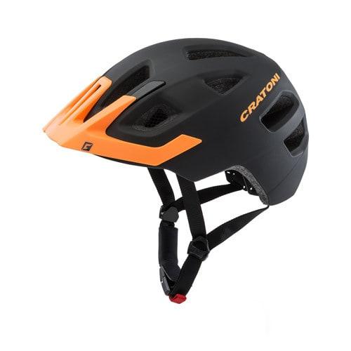 cratoni maxster pro kinder fahrradhelm schwarz orange gr e xs s 46 51 cm online shop. Black Bedroom Furniture Sets. Home Design Ideas