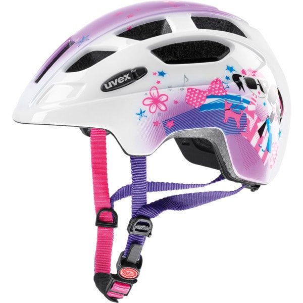 uvex finale junior kinder fahrradhelm inkl led pink gr e 48 52 cm online shop zweirad stadler. Black Bedroom Furniture Sets. Home Design Ideas