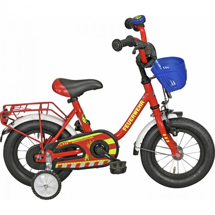 "Streety Feuerwehr Kinderrad 14"""
