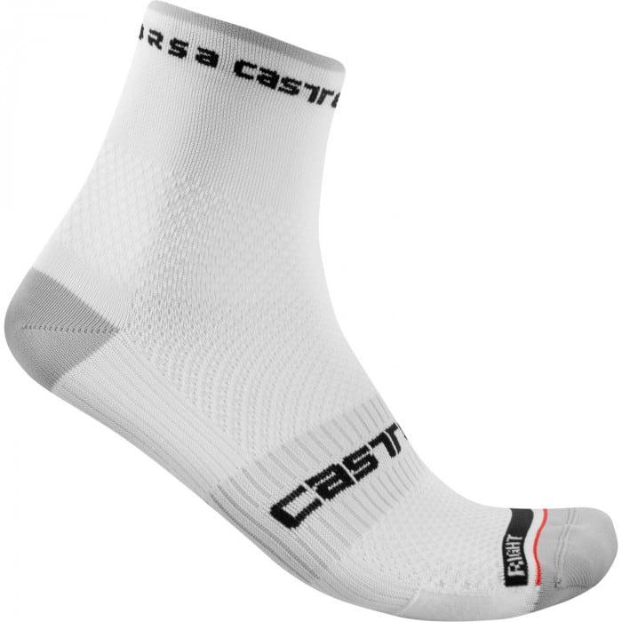 Castelli Rosso Corsa Pro 9 Fahrrad Socken