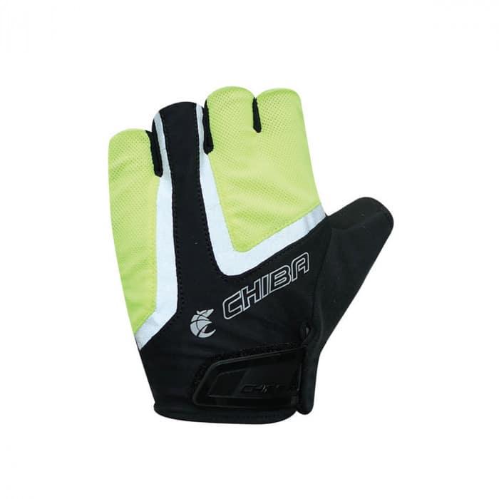 Chiba Gel Air Reflex Fahrrad Handschuhe kurz