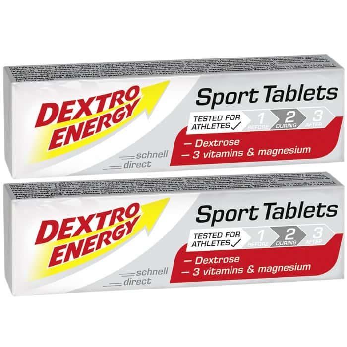 Dextro Energy Sport Tablets Traubenzucker (2 x 47 g)