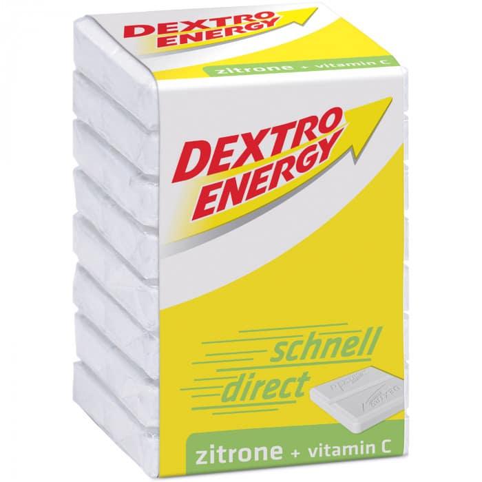 Dextro Energy Zitrone + Vitamin C Würfel Traubenzucker (46 g)