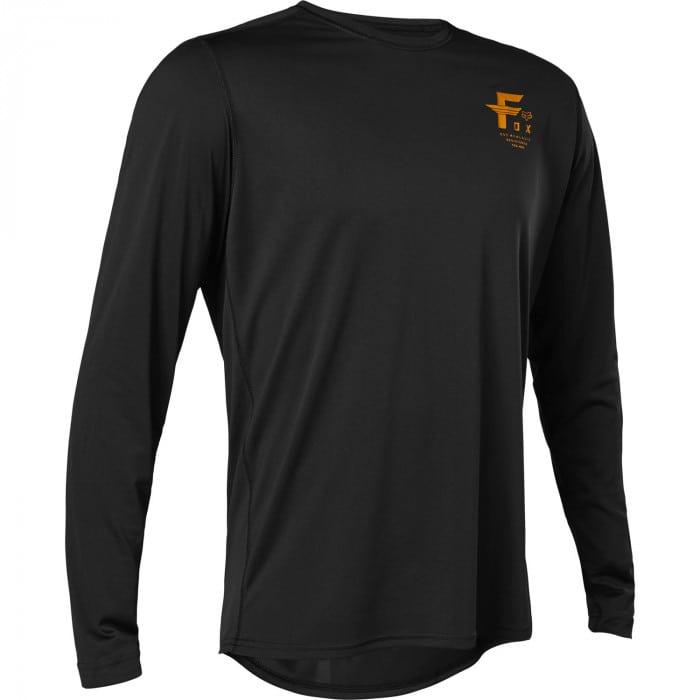 Fox Ranger LS Big F Rad Shirt langarm Herren