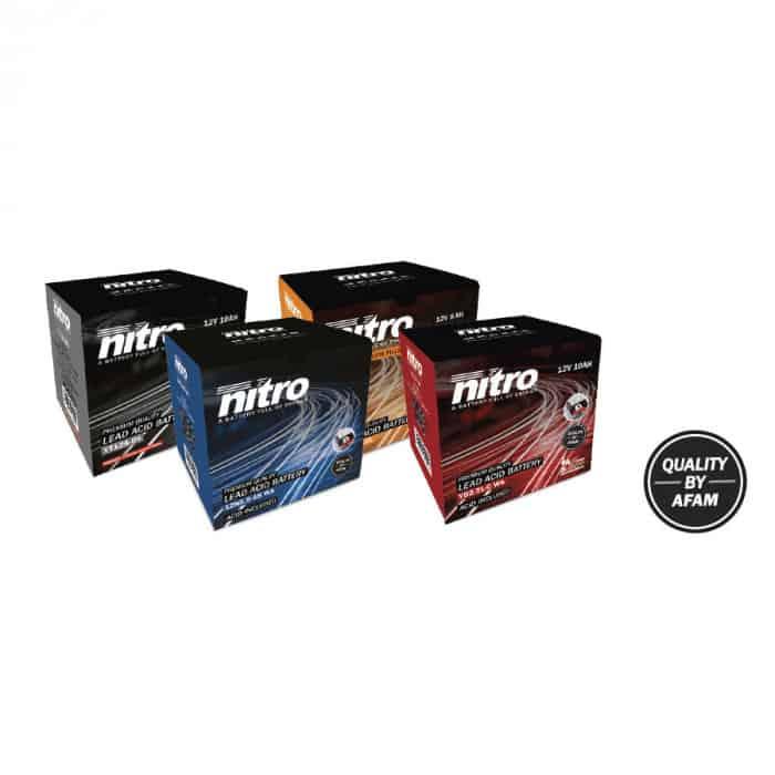 Nitro 12V 8AH Batterie