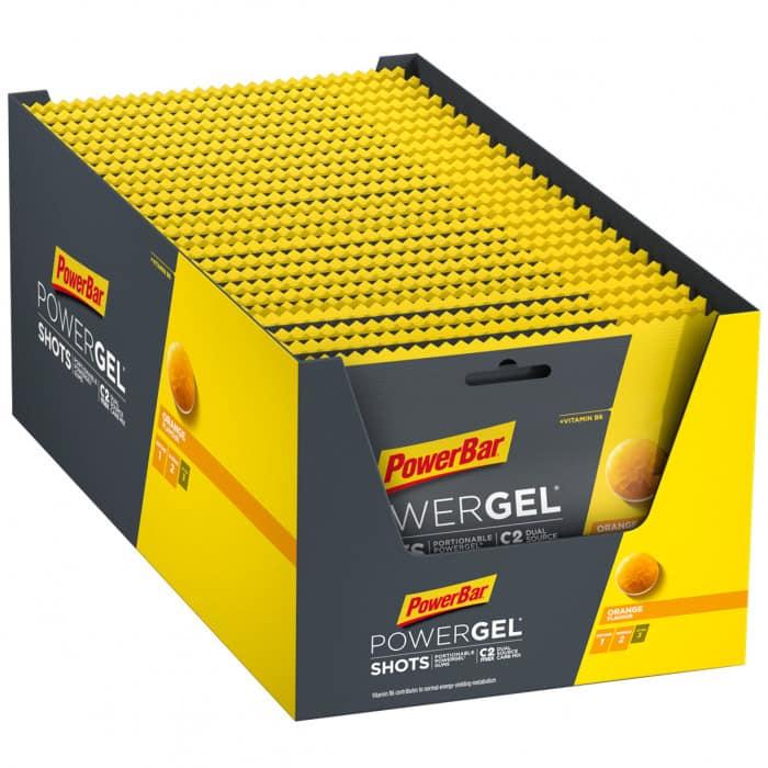 Powerbar Powergel Shots Kohlenhydrat-Gummis Box (24 x 60 g)