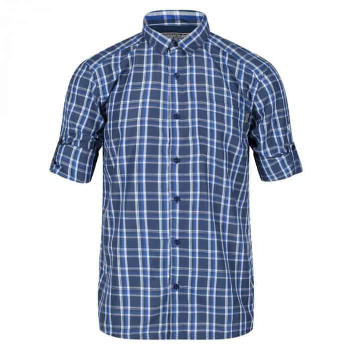 Regatta Mindano III Rad Shirt langarm  Herren